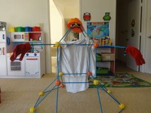 ABC Time Home Preschool - Robot building